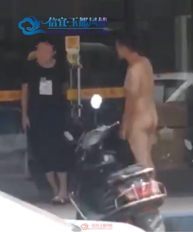 新里二路某餐厅门口惊现裸男,你怎么看?