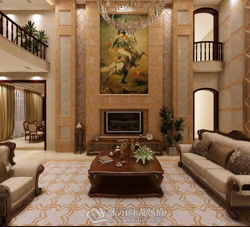 以国际品牌蒙娜丽莎瓷砖服务于大众,室内装修设计是我们的一大