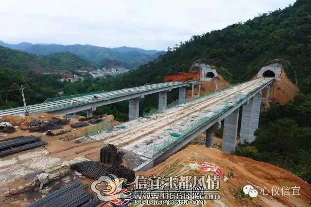 信宜玉都风情网 信宜高速公路所有桥梁架设即将完工信宜高速公路建