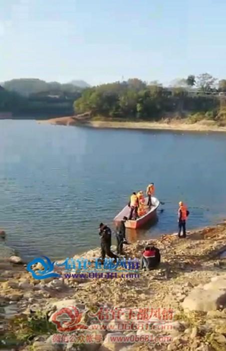 信宜一人在尚文水库溺水,消防正在奋力救缓!